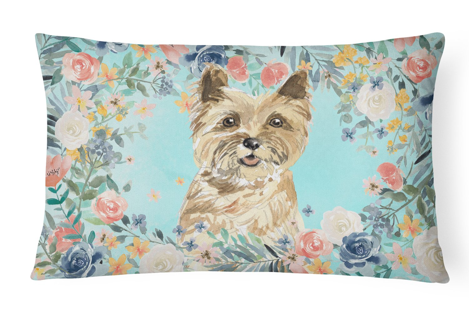 Buy this Cairn Terrier Canvas Fabric Decorative Pillow CK3430PW1216