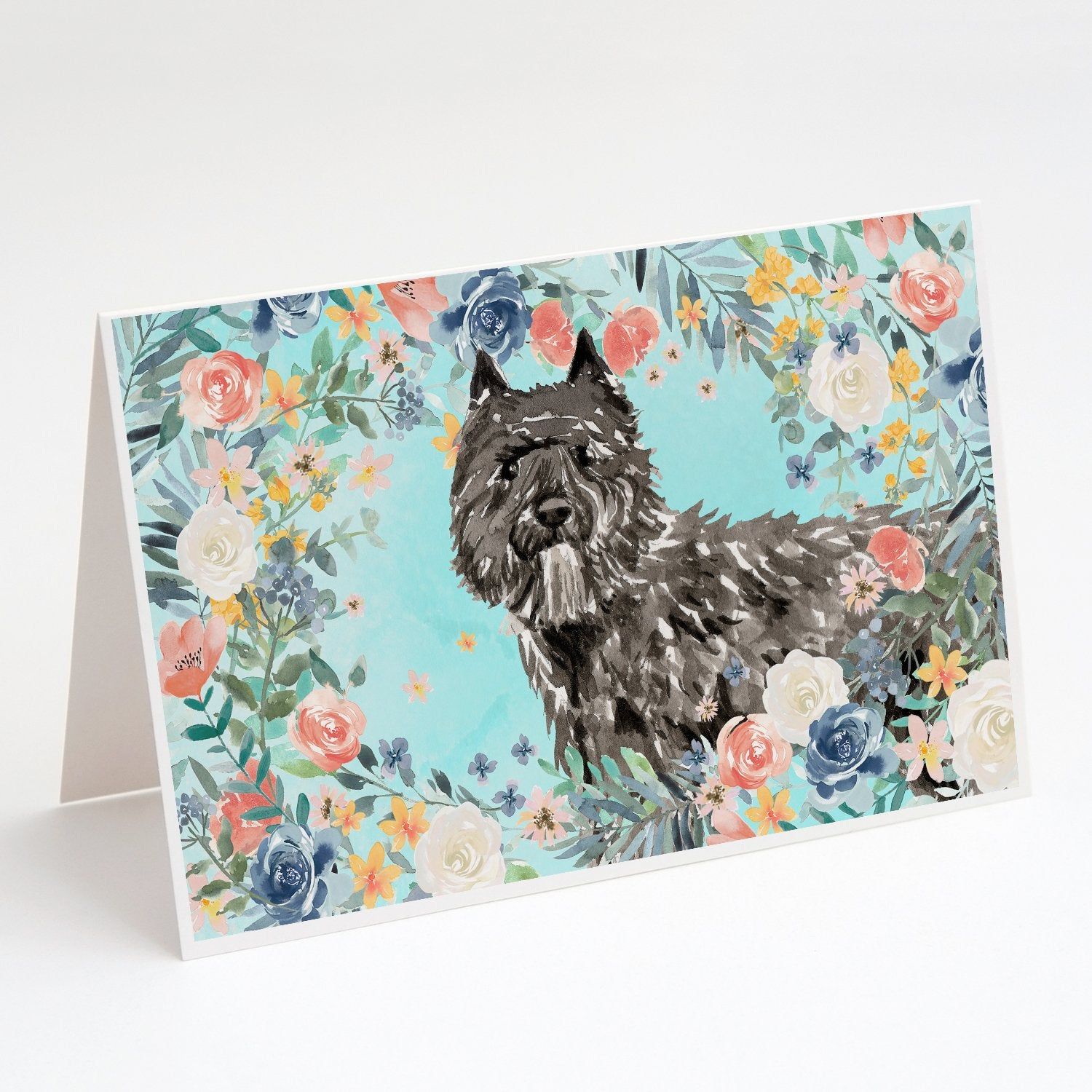 Buy this Bouvier des Flandres Greeting Cards and Envelopes Pack of 8