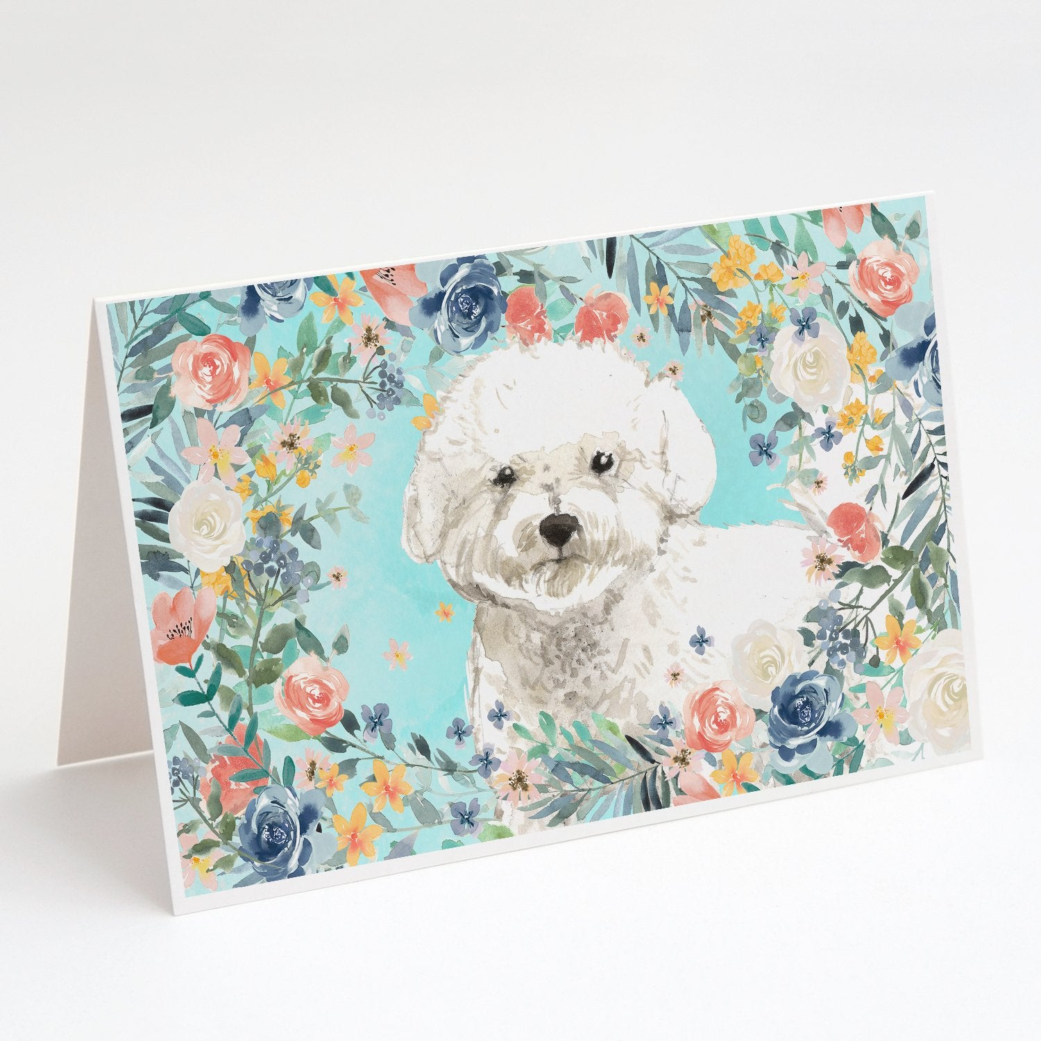Buy this Bichon Frise Greeting Cards and Envelopes Pack of 8