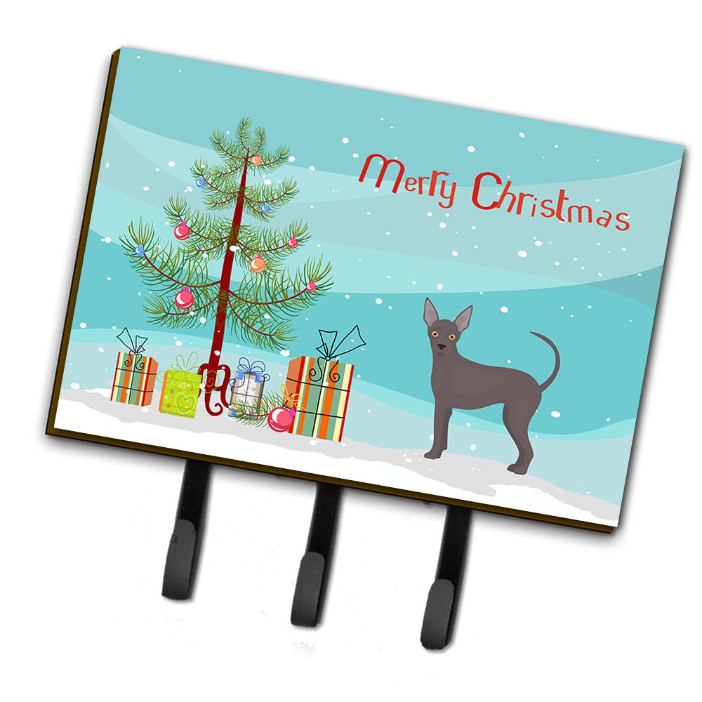 Buy this Abyssinian or African Hairless Dog Christmas Tree Leash or Key Holder CK3438TH68