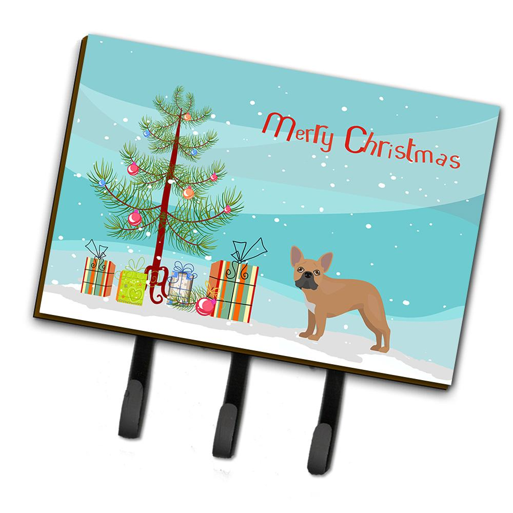 Buy this French Bulldog Christmas Tree Leash or Key Holder CK3455TH68