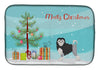 Buy this Löwchen or Little Lion Dog Christmas Tree Dish Drying Mat CK3470DDM