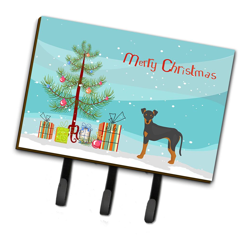 Manchester Terrier Christmas Tree Leash or Key Holder CK3472TH68 by Caroline's Treasures