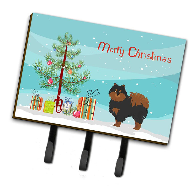 Buy this Pomeranian Christmas Tree Leash or Key Holder CK3477TH68