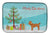 Buy this Toy Poodle Christmas Tree Dish Drying Mat CK3479DDM