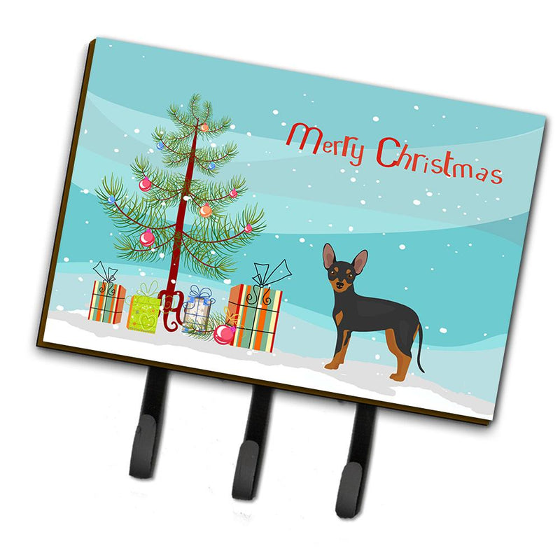 Buy this Prague Ratter Christmas Tree Leash or Key Holder CK3480TH68