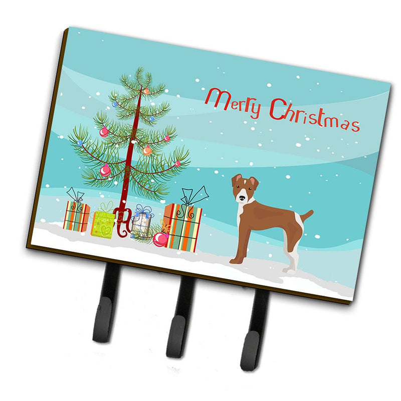 Buy this Rat Terrier Christmas Tree Leash or Key Holder CK3482TH68
