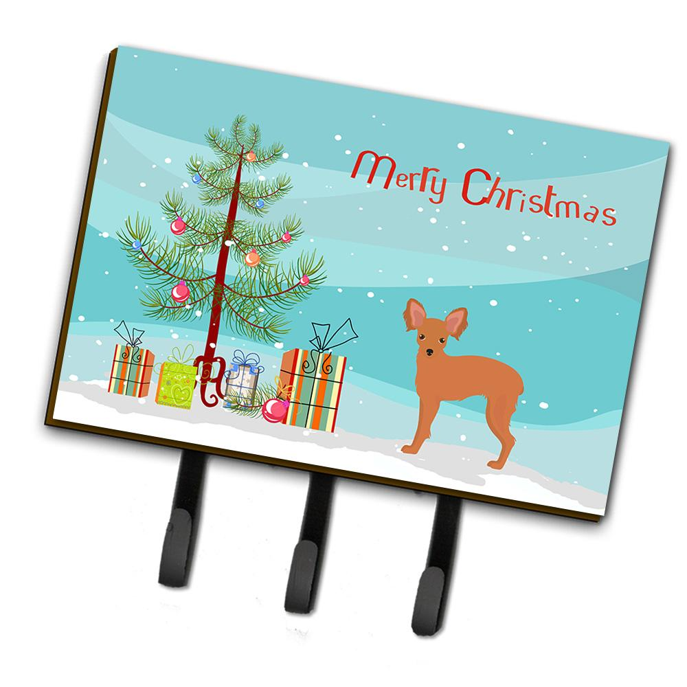 Russkiy Toy or Russian Toy Terrier Christmas Tree Leash or Key Holder CK3484TH68 by Caroline's Treasures
