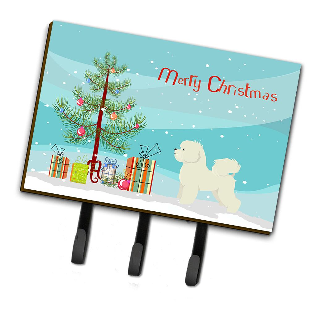 Buy this Bichon Frise Christmas Tree Leash or Key Holder CK3521TH68