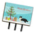 Buy this Border Collie Christmas Tree Leash or Key Holder CK3522TH68