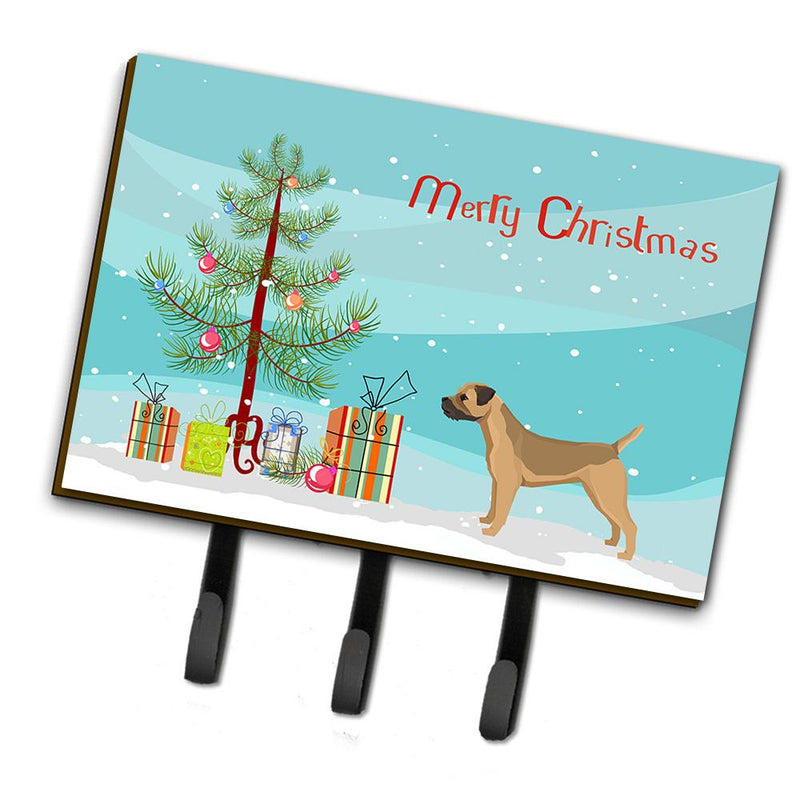 Buy this Border Terrier Christmas Tree Leash or Key Holder CK3523TH68