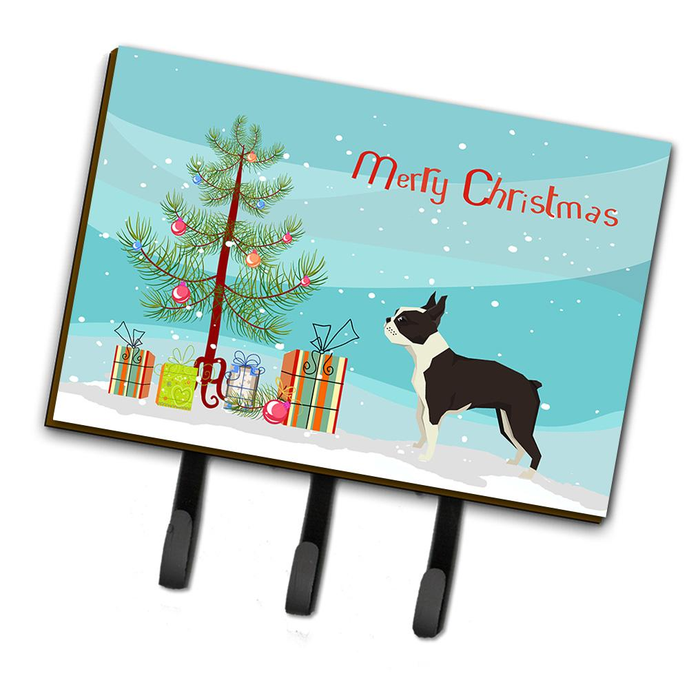 Buy this Boston Terrier Christmas Tree Leash or Key Holder CK3525TH68