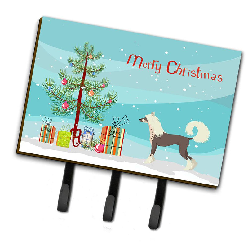 Buy this Chinese Crested Christmas Tree Leash or Key Holder CK3531TH68