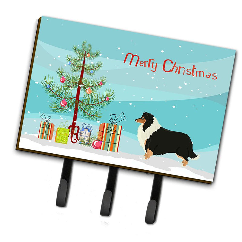 Buy this Collie Christmas Tree Leash or Key Holder CK3532TH68