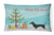 Buy this Dachshund Christmas Tree Canvas Fabric Decorative Pillow CK3533PW1216