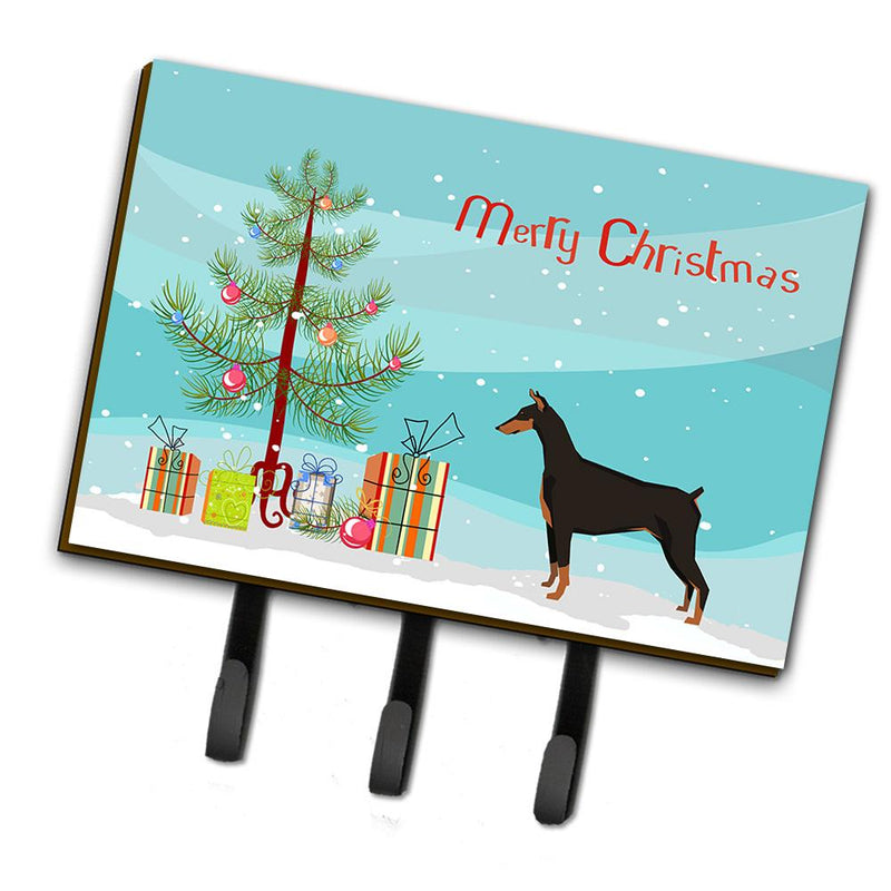Buy this Doberman Pinscher Christmas Tree Leash or Key Holder CK3535TH68
