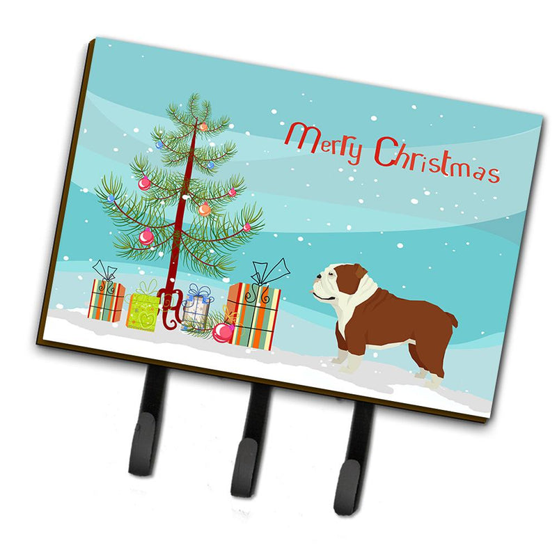 Buy this English Bulldog Christmas Tree Leash or Key Holder CK3536TH68