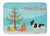 Buy this French Bulldog Christmas Tree Machine Washable Memory Foam Mat CK3539RUG