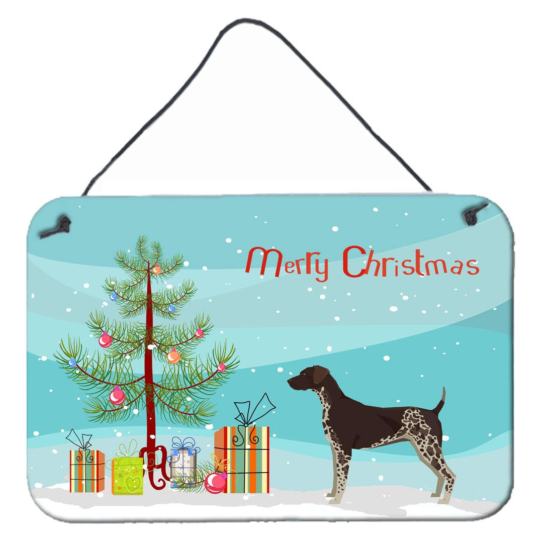 Buy this German Shorthaired Pointer Christmas Tree Wall or Door Hanging Prints CK3541DS812