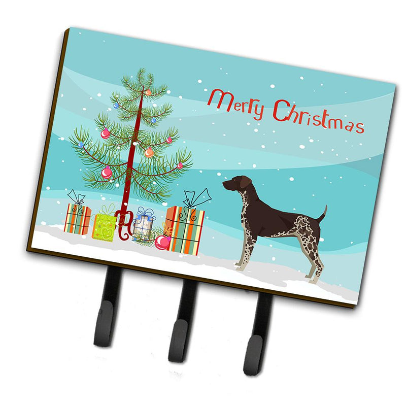 Buy this German Shorthaired Pointer Christmas Tree Leash or Key Holder CK3541TH68