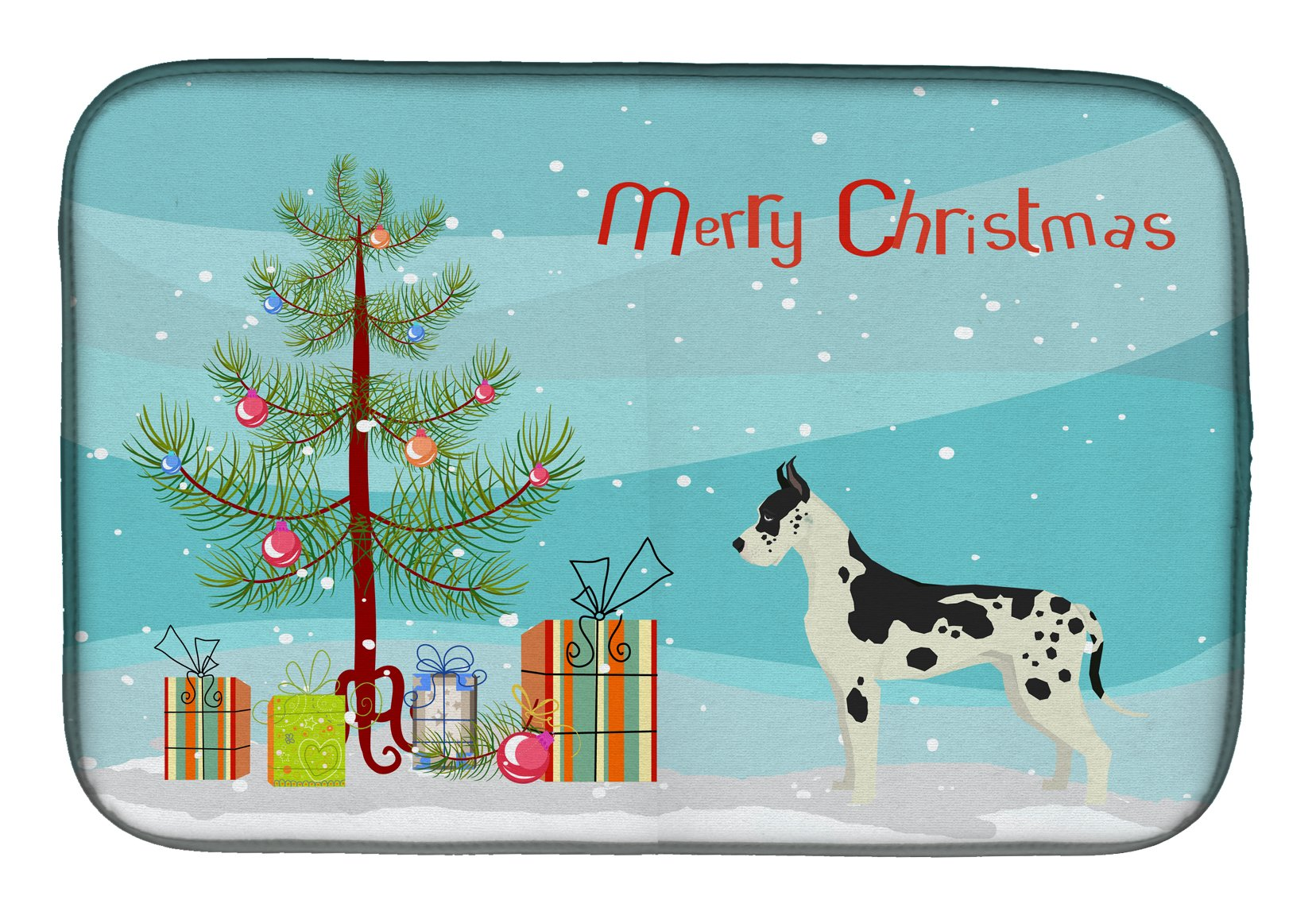 Buy this Great Dane Christmas Tree Dish Drying Mat CK3542DDM