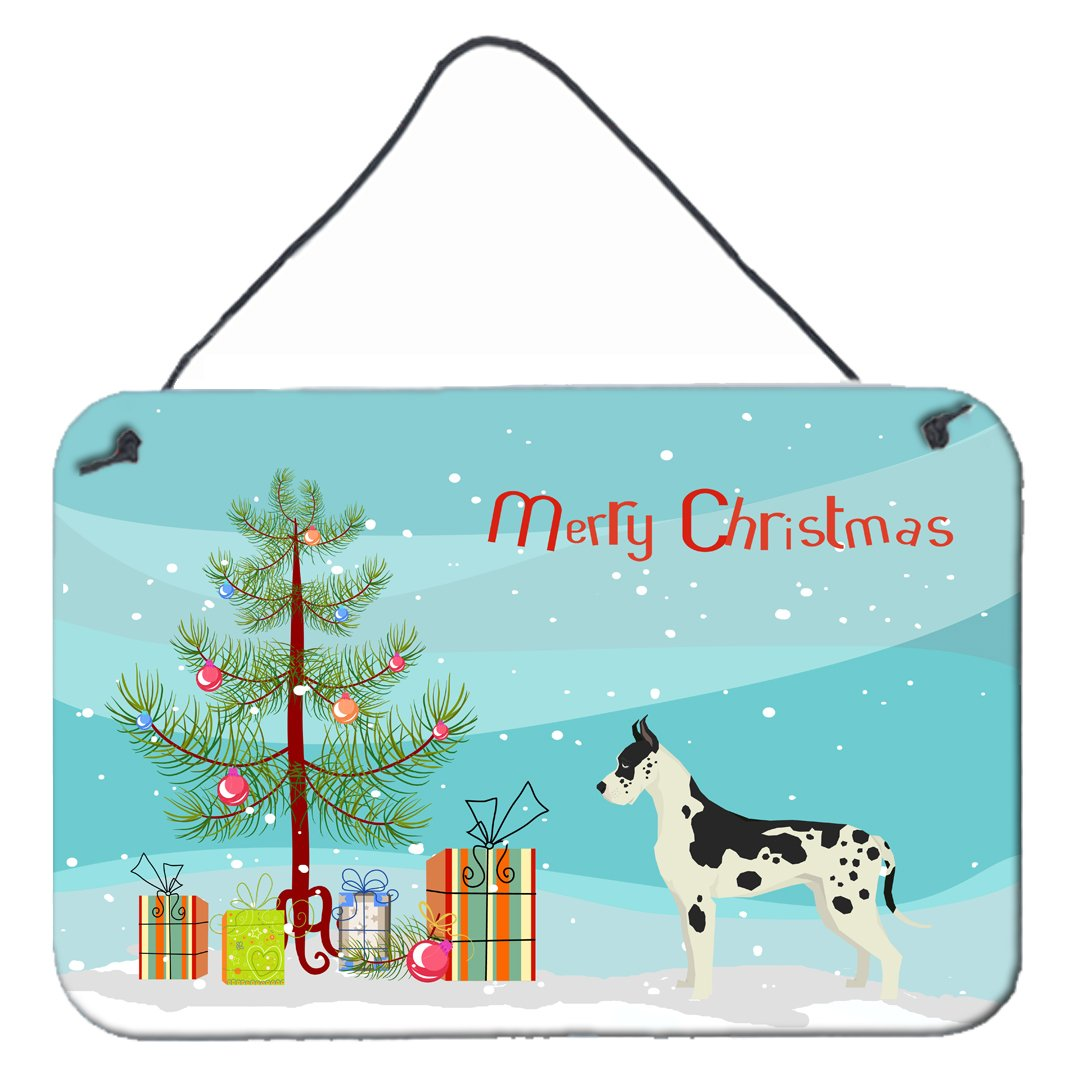 Buy this Great Dane Christmas Tree Wall or Door Hanging Prints CK3542DS812
