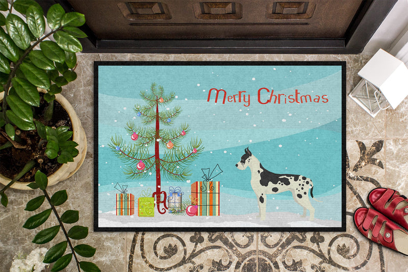 Buy this Great Dane Christmas Tree Indoor or Outdoor Mat 24x36 CK3542JMAT