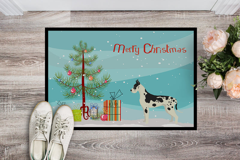 Buy this Great Dane Christmas Tree Indoor or Outdoor Mat 18x27 CK3542MAT