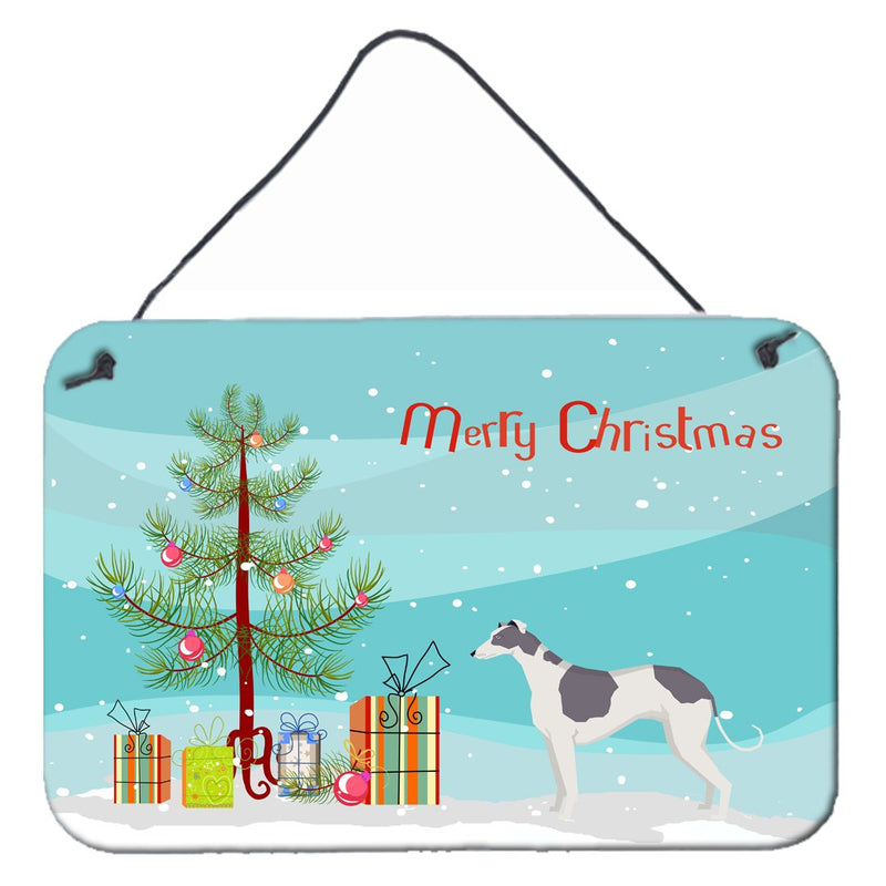 Buy this Greyhound Christmas Tree Wall or Door Hanging Prints CK3543DS812