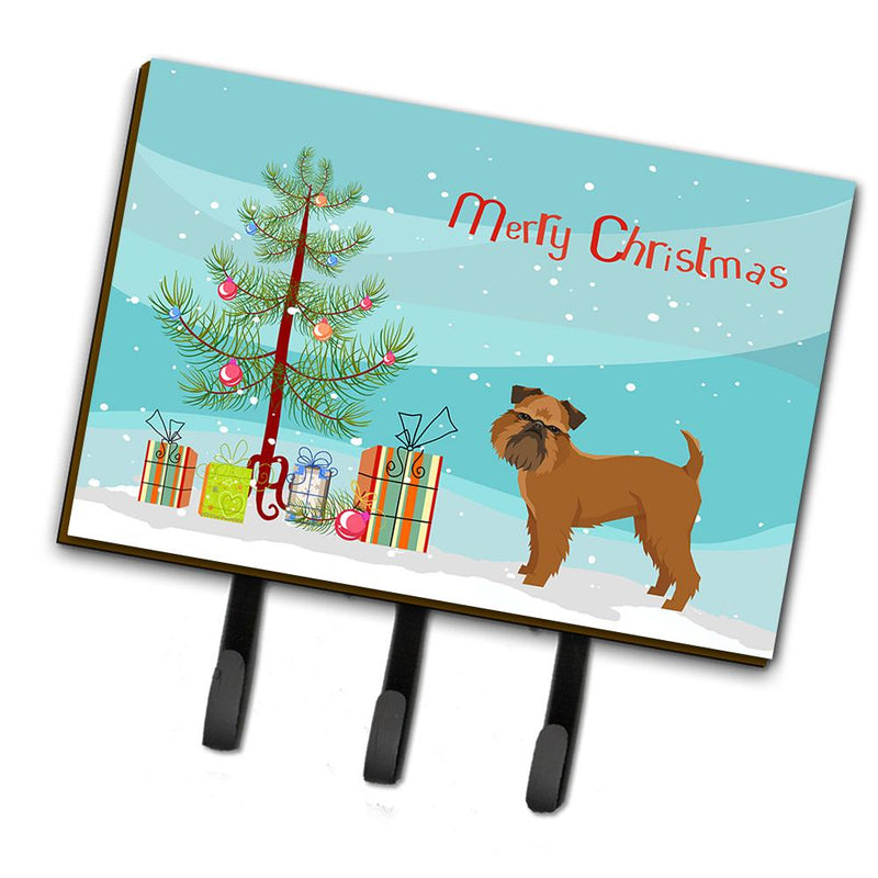 Buy this Brussels Griffon Christmas Tree Leash or Key Holder CK3544TH68