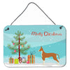 Buy this Ibizan Hound Christmas Tree Wall or Door Hanging Prints CK3545DS812