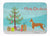 Buy this Ibizan Hound Christmas Tree Machine Washable Memory Foam Mat CK3545RUG