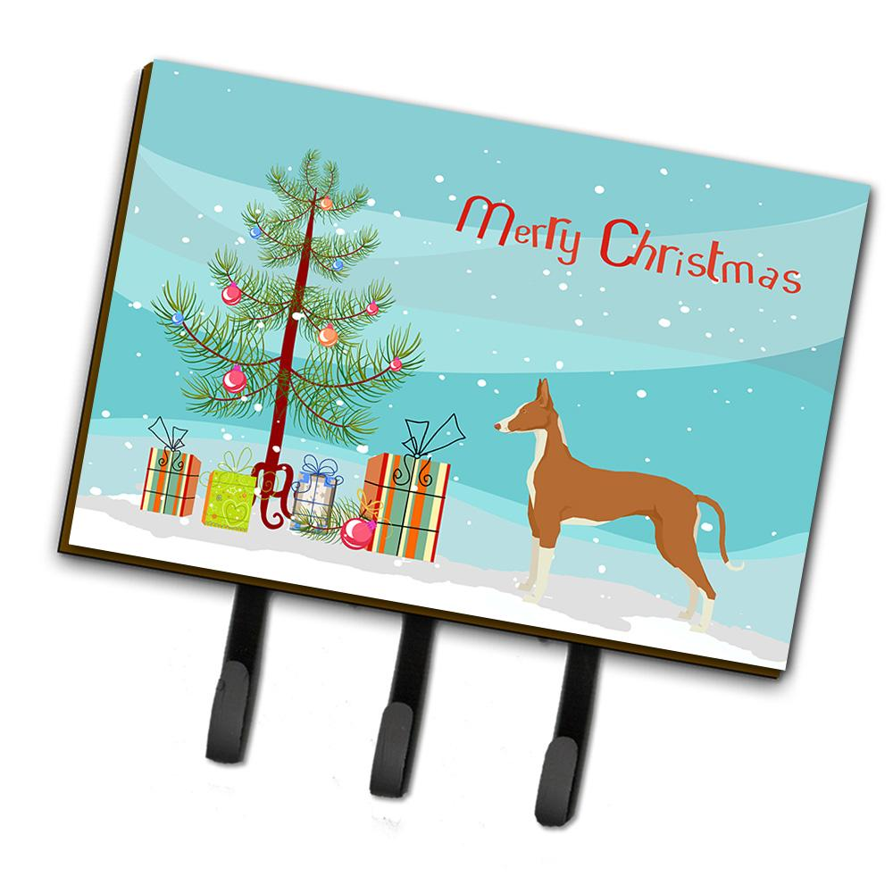 Ibizan Hound Christmas Tree Leash or Key Holder CK3545TH68 by Caroline's Treasures