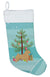 Norwich Terrier Christmas Tree Christmas Stocking CK3551CS by Caroline's Treasures