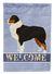 Buy this Australian Shepherd Welcome Flag Garden Size CK3575GF