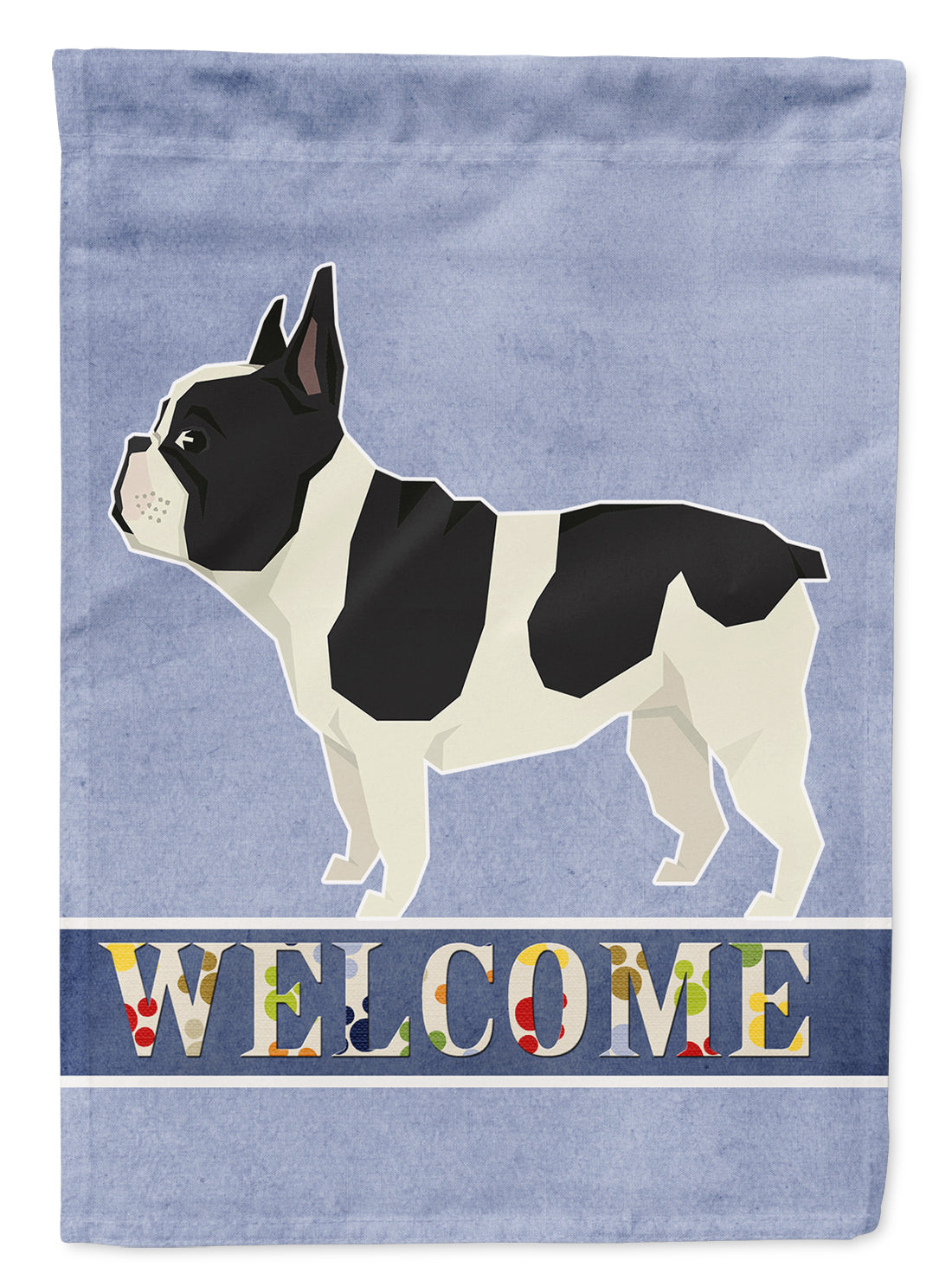 French Bulldog Welcome Flag Garden Size CK3598GF by Caroline's Treasures