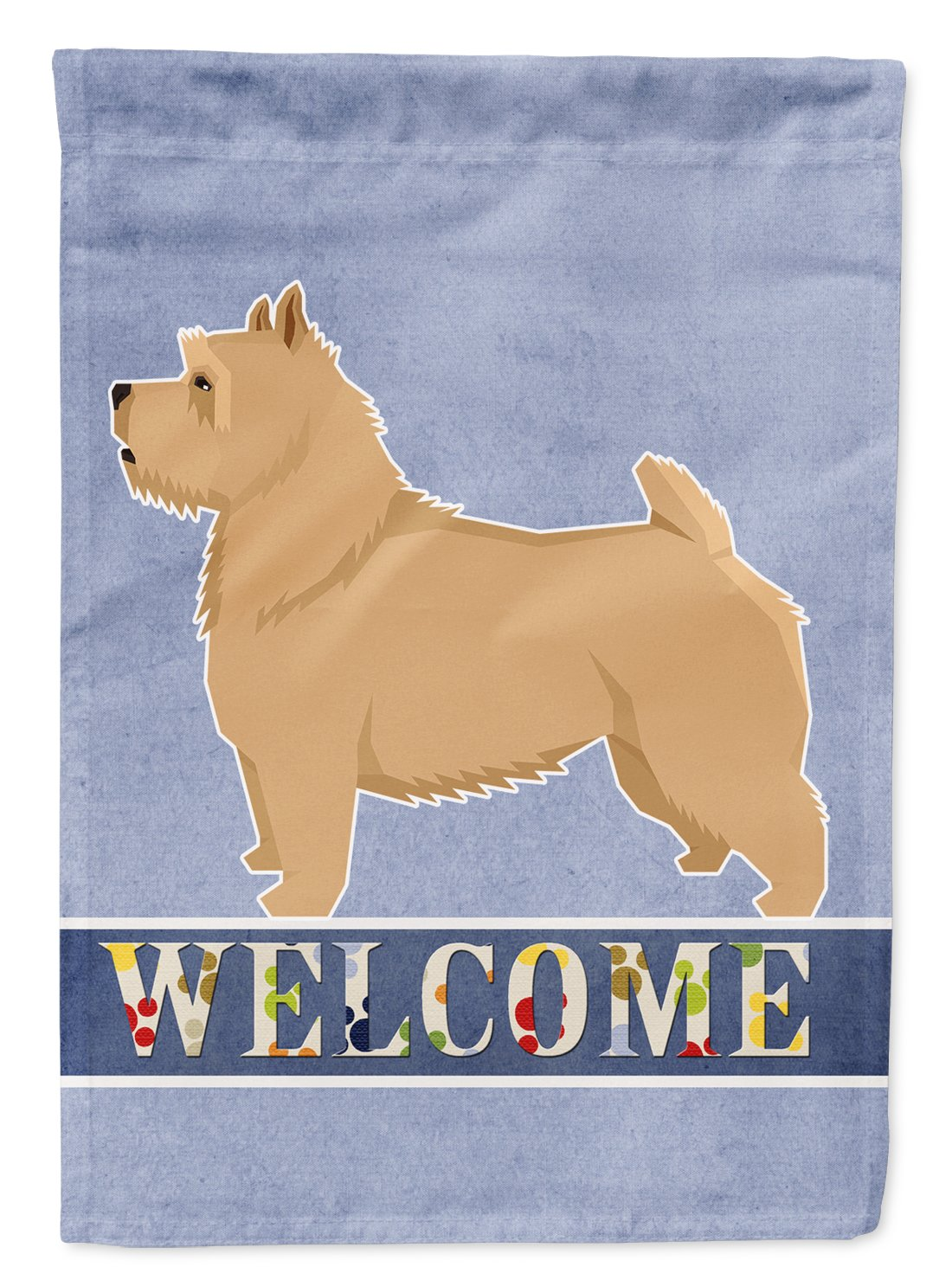Buy this Norwich Terrier Welcome Flag Garden Size CK3610GF