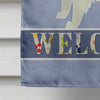 Spitz Welcome Flag Canvas House Size CK3624CHF
