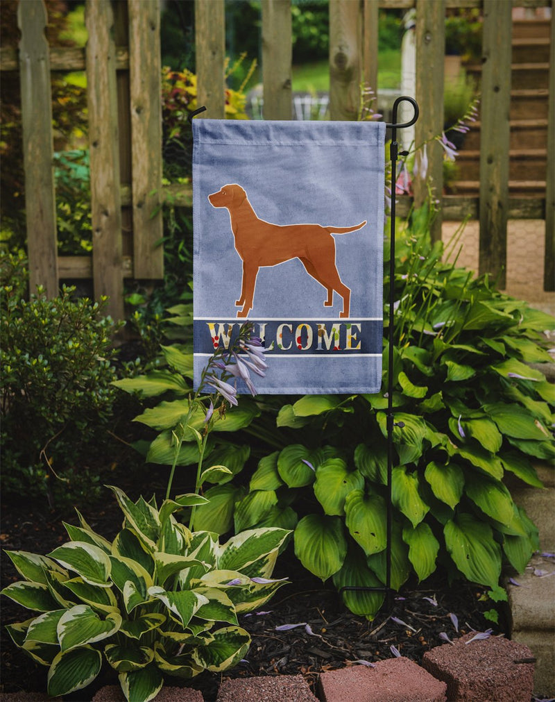 Buy this Vizsla Welcome Flag Garden Size CK3627GF