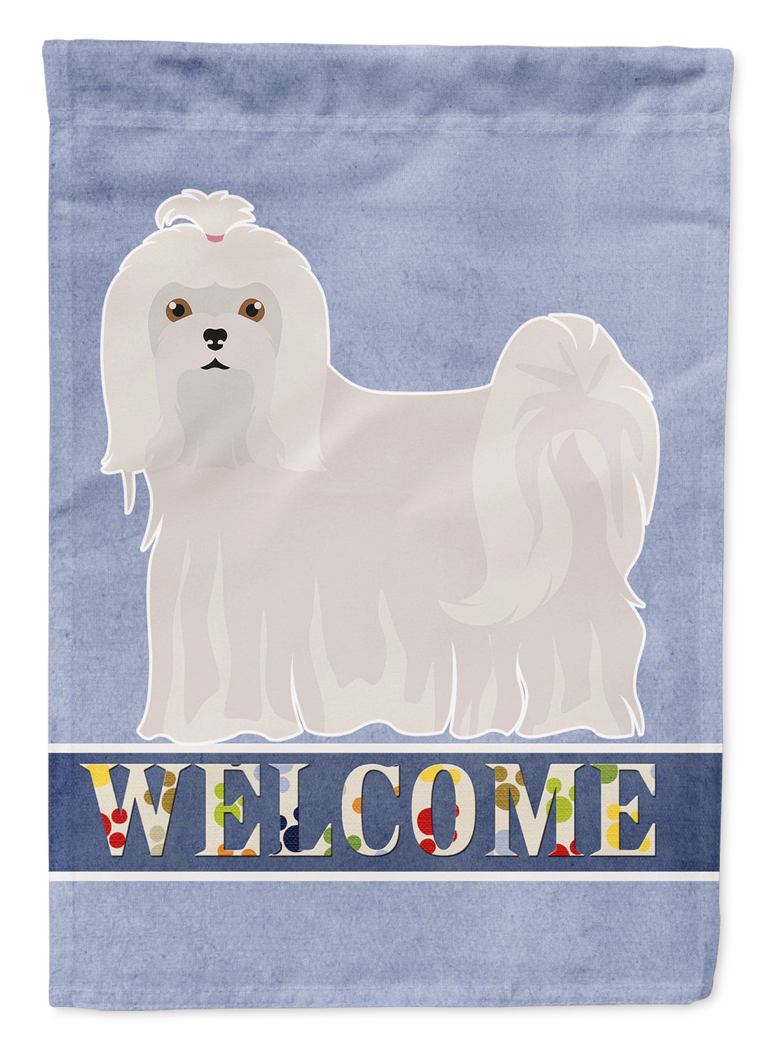 Maltese Welcome Flag Garden Size CK3663GF by Caroline's Treasures