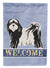 Buy this Tibetan Terrier Welcome Flag Garden Size CK3681GF
