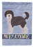Aussiedoodle #1 Welcome Flag Garden Size CK3706GF by Caroline's Treasures