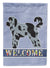 Aussiedoodle #2 Welcome Flag Garden Size CK3707GF by Caroline's Treasures