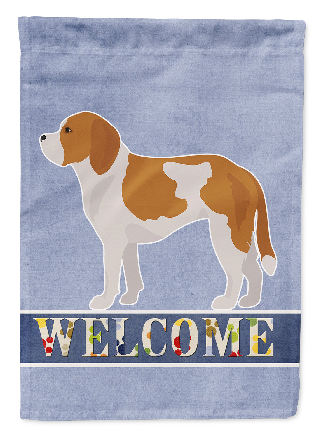 Beaglier #1 Welcome Flag Canvas House Size CK3708CHF by Caroline's Treasures