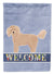 Bichpoo Welcome Flag Garden Size CK3712GF by Caroline's Treasures