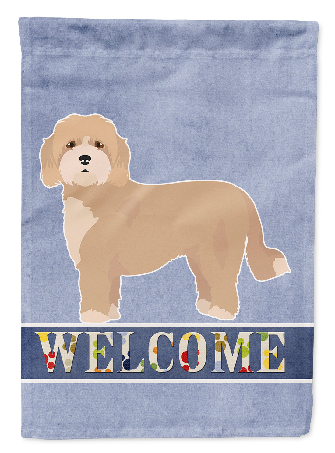 Cavachon Welcome Flag Canvas House Size CK3716CHF by Caroline's Treasures