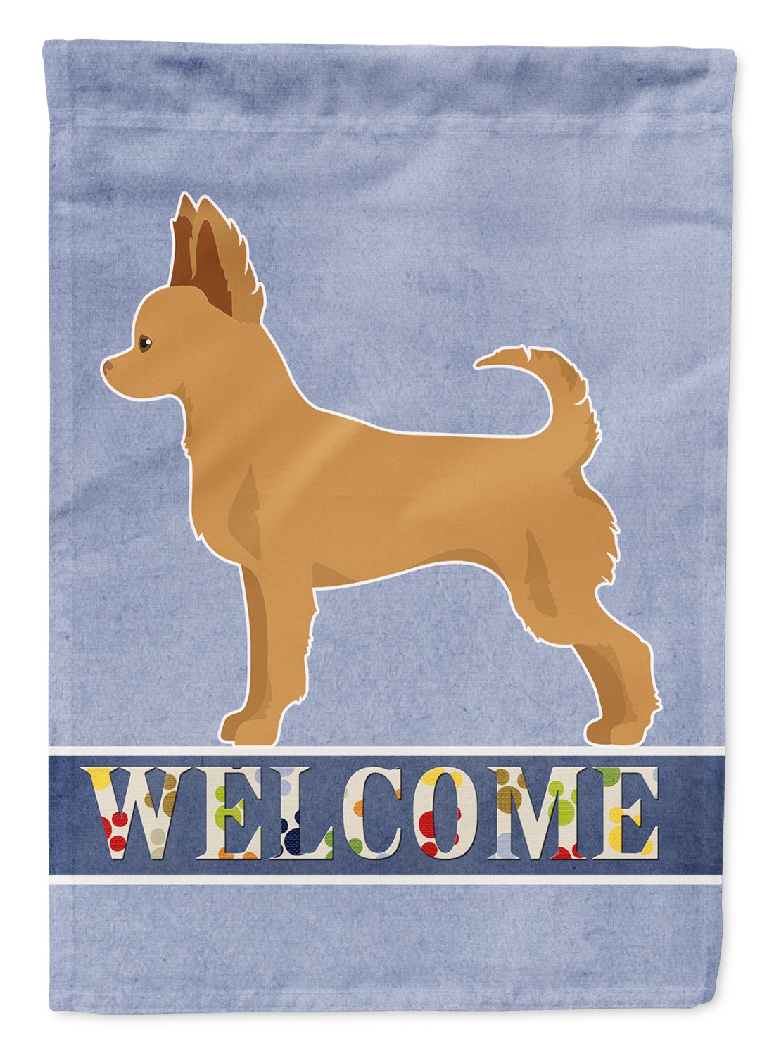 Tan Chion Welcome Flag Garden Size CK3720GF by Caroline's Treasures