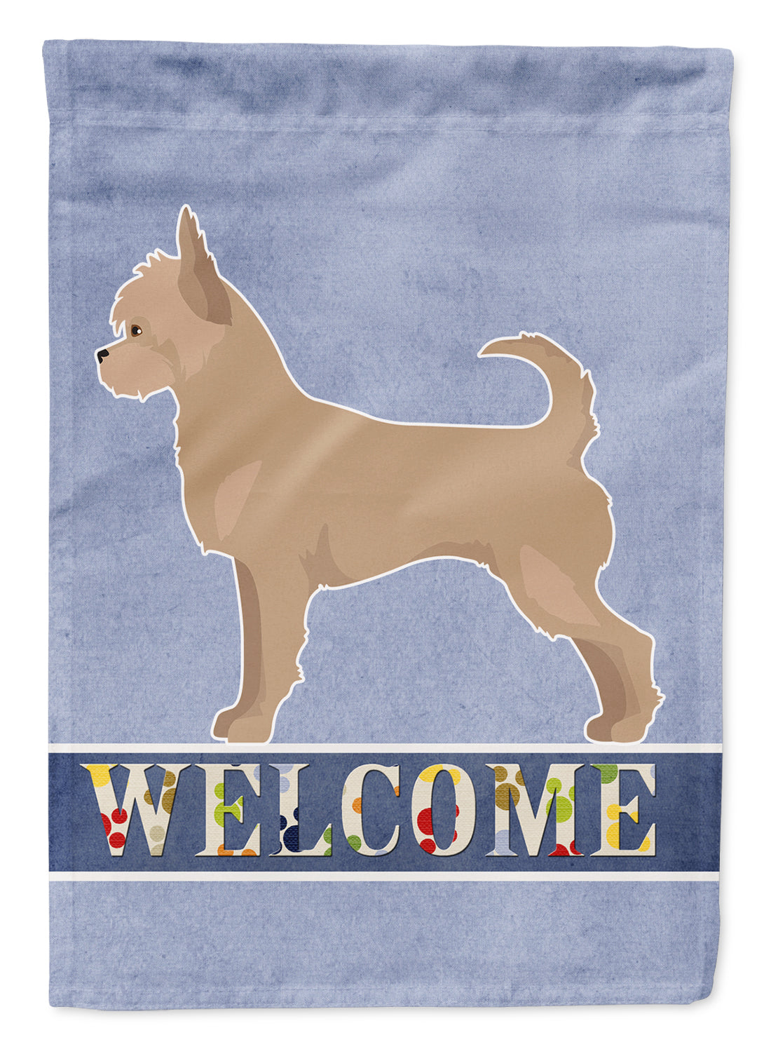 Tan Chorkie Welcome Flag Garden Size CK3724GF by Caroline's Treasures
