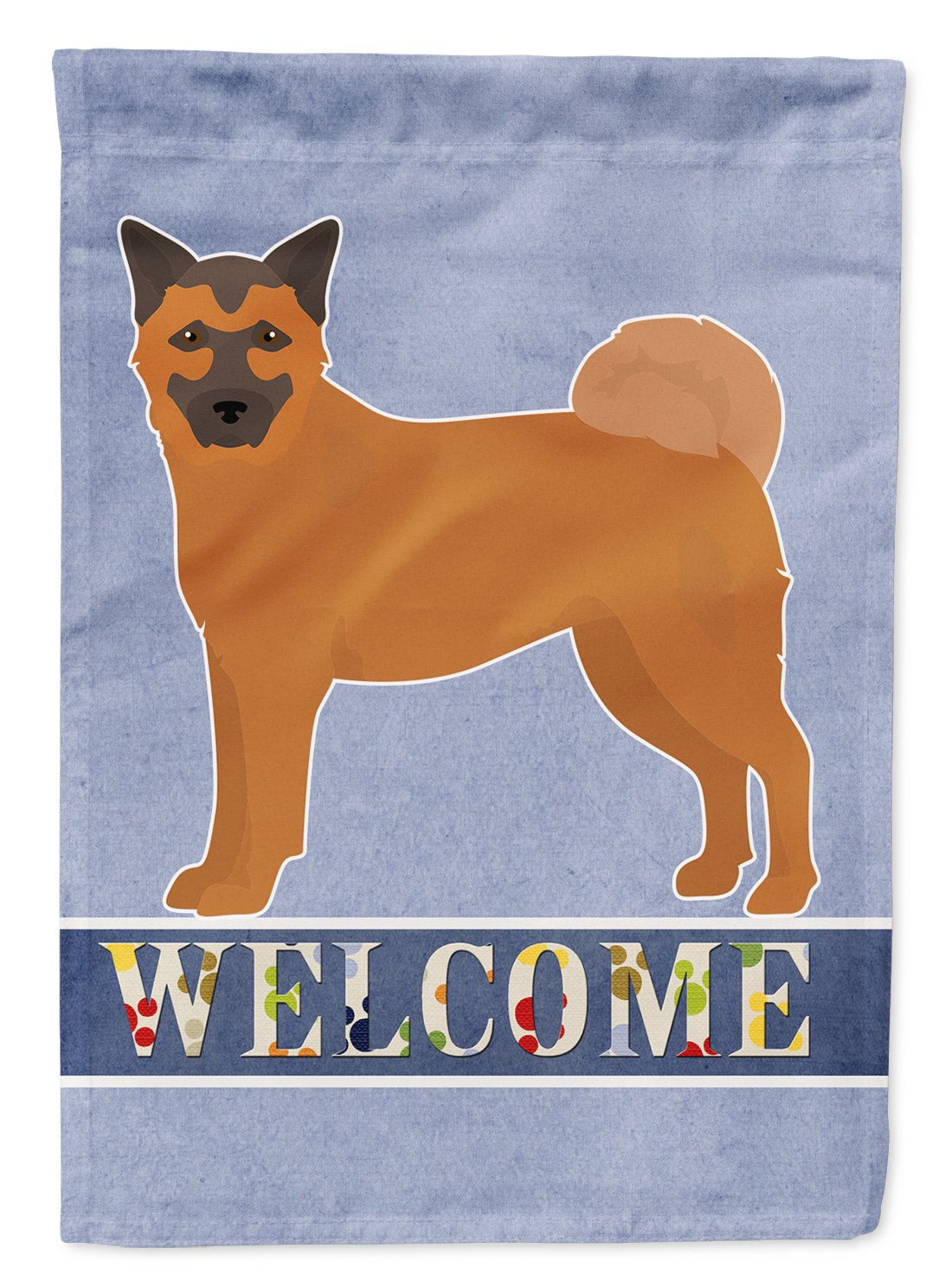 Buy this Chow Shepherd Welcome Flag Garden Size CK3725GF