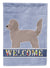 Doxiepoo Welcome Flag Canvas House Size CK3732CHF by Caroline's Treasures